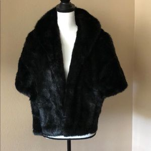Bebe One size fur cover up